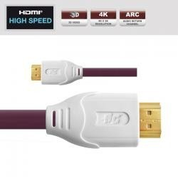 REAL CABLE  Câble HDMI - Gamme EVOLUTION - Réf : HDMI73 1M