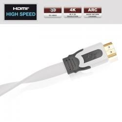 REAL CABLE Câble HDMI Intégration Facile - Gamme EVOLUTION 2M