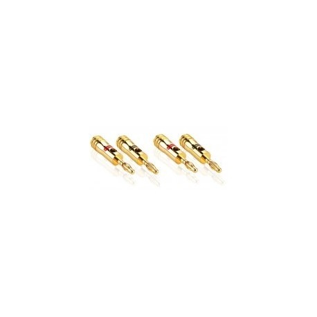 profigold prod700 pack 4 fiches bananes plaques or 24 k