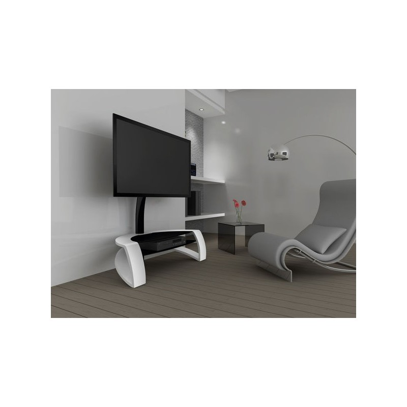 Norstone galby meuble tv avec support for Meuble support tv