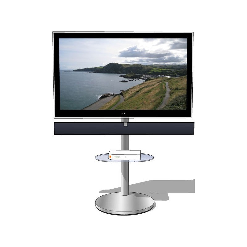 Norstone tiblen sb meuble tv avec support for Meuble tv stone