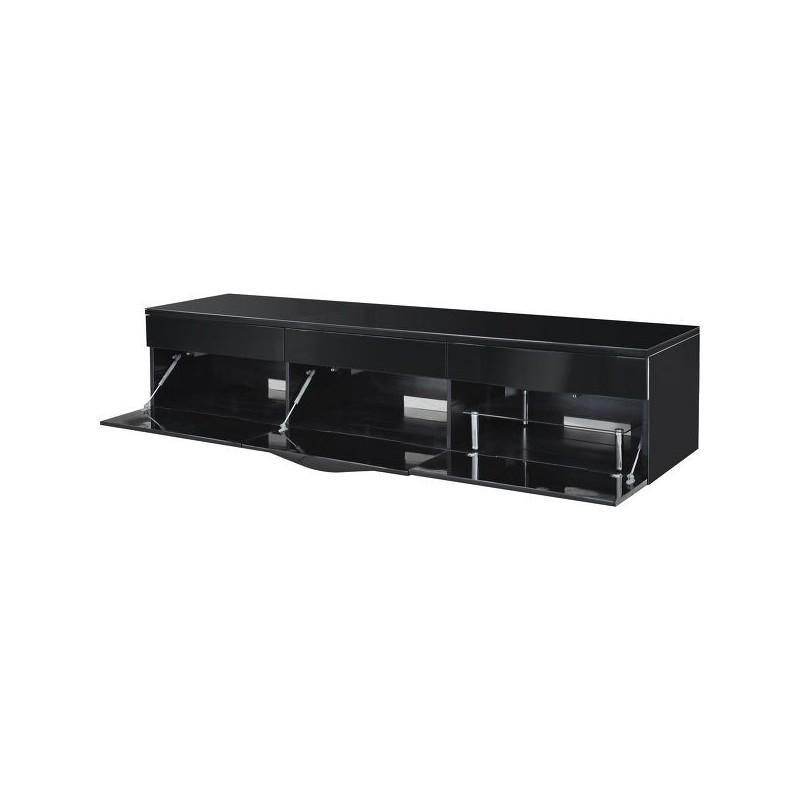 Norstone cikor meuble tv vid o meubles a v accessoires hifi for Meuble tv norstone