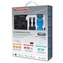 REAL CABLE HTK500 pack barrette secteur + cable hdmi + liquide de nettoyage