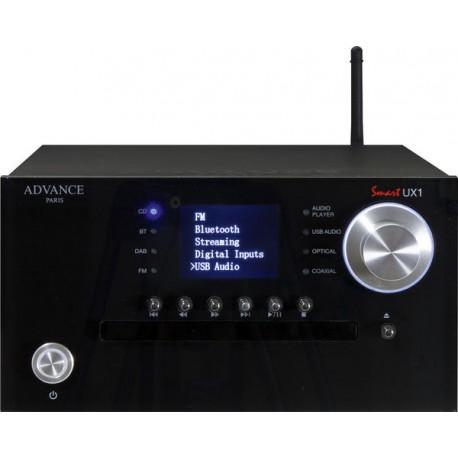 advance paris UX1 comboni lecteur cd / lecteur reseau/ tuner/ préampli SANS AMPLI