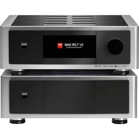NAD M17V2 + M27 amplis home cinéma