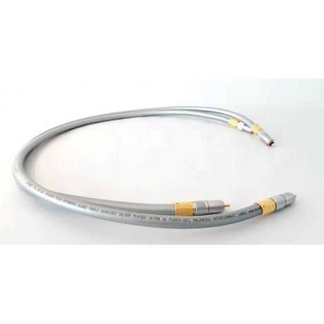 ecosse baton 2x 0.60m cables modulation rca