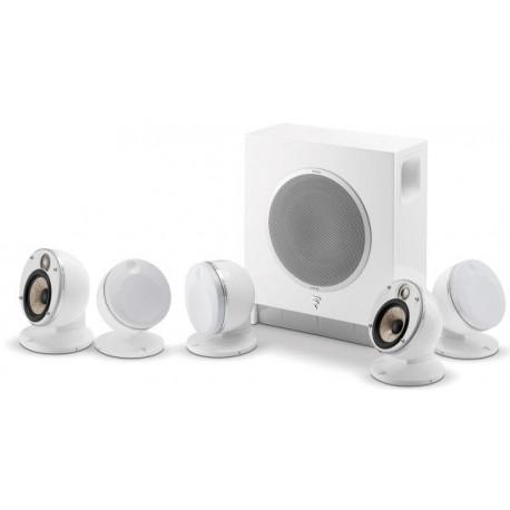 FOCAL DÔME FLAX 5.1 SUB AIR BLANC Packs enceintes compactes