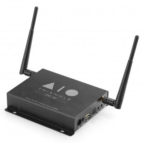 Triangle AIO Pro A50 Amplificateur stéréo 2 x 50 Watts avec Bluetooth, Wi-Fi, Ethernet et USB