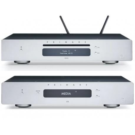 primare i15 + sc15 noir ampli intégré + lecteur réseau