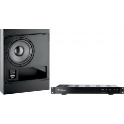 Focal 100 IWSUB8 + 100 IWSUB8 Amplifier Caissons de basses encastrables
