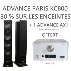 advance paris kc800 enceintes colonnes la paire