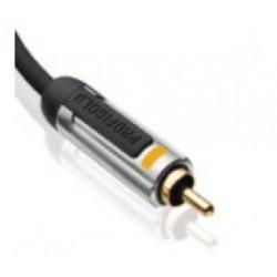 profigold proa4803 cable coaxial gold rca / rca 3 metres