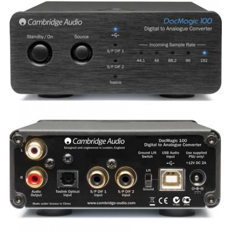 CAMBRIDGE DAC MAGIC 100 CONVERTISSEUR