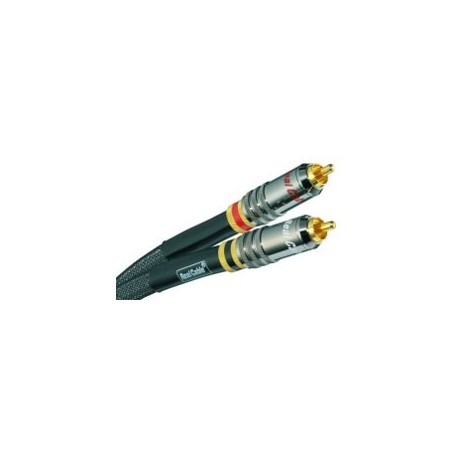 REAL CABLE CA 1801 CABLE MODULATION 2X0.80M RCA RCA