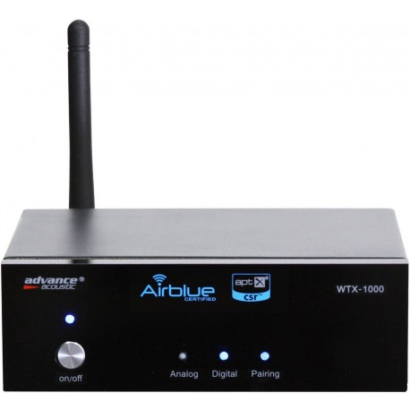 advance acoustic wtx1000 récepteur bluetooth