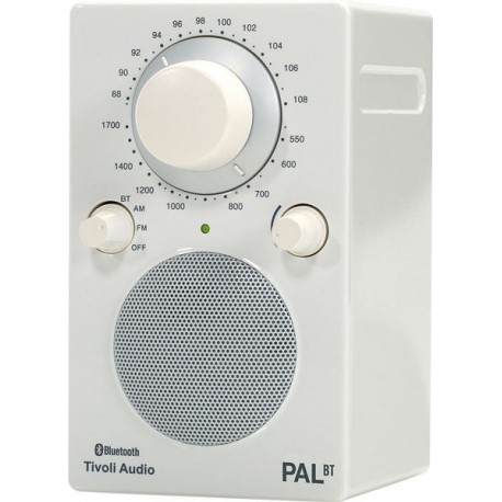 TIVOLI PAL BT BLANC RADIO PORTABLE BLUETOOTH