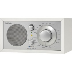 tivoli model one bt white/silver radio bluetooth