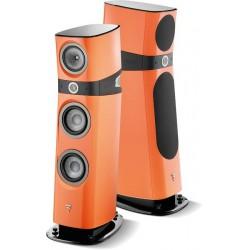focal sopra no 2 orange electrique enceinte colonne la paire