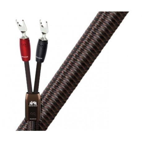 Audioquest Castle Rock Fourches ou bananes (la paire) câbles enceintes premontés