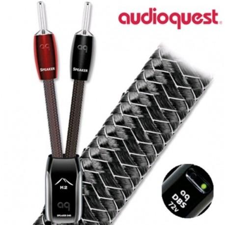 Audioquest K2 Fourches ou bananes (la paire) câbles enceintes premontés
