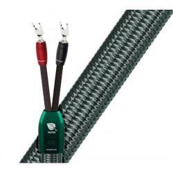 Audioquest Aspen fourches ou bananes (la paire) câbles enceintes prémontés