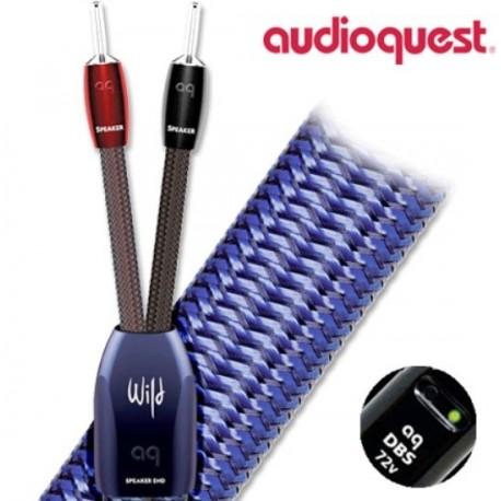 Audioquest Wild Wood fourches ou bananes (la paire) câble enceintes prémontés