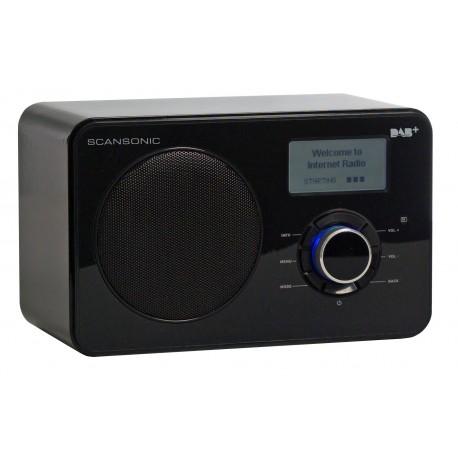 scansonic in200 noir radio internet