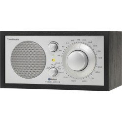 TIVOLI MODEL ONE BT RADIO NOIR FOND SILVER