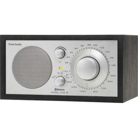 TIVOLI MODEL ONE BT RADIO NOIR FOND SILVER