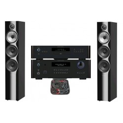 PACK ROTEL RA1572 + RCD1572 + BW 704S2 + CABLAGE AUDIOQUEST