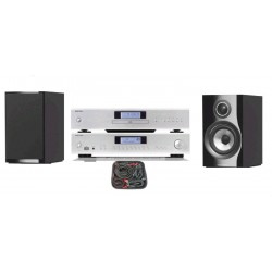 PACK ROTEL A14 + CD14 + BW 707 + CABLAGE AUDIOQUEST