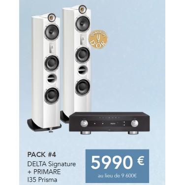 PACK TRIANGLE SIGNATURE DELTA + PRIMARE I35 PRISMA amplificateur stéréo audiophile