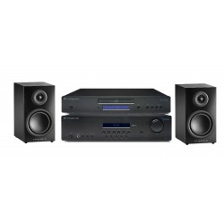 PACK CAMBRIDGE SR10 AMPLI TUNER RDS + CD10 LECTEUR CD + TRIANGLE LN01 ENCEINTES BIBLIOTHEQUES + CABLAGE OFFERT