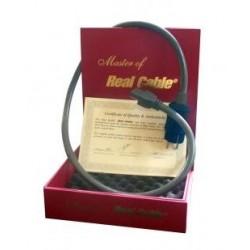 REAL CABLE Câble secteur de Prestige - Gamme MASTER - 1.M